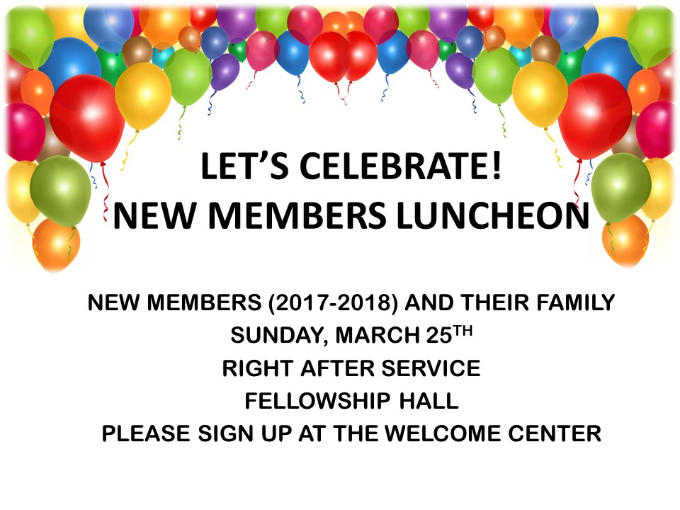 New Members Luncheon Image