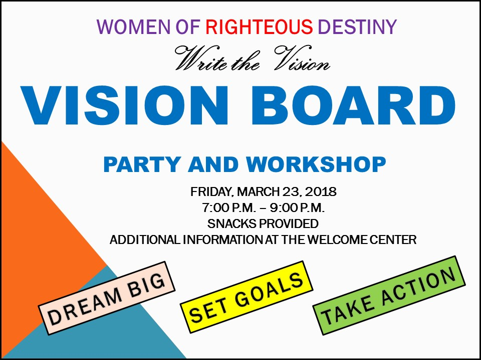 Vision Board Party Image